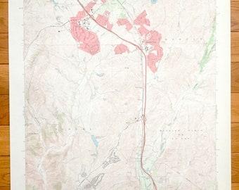 Antique San Juan Capistrano, California 1968 US Geological Survey Topographic Map –Orange County, South Laguna, Laguna Niguel, Mission Viejo