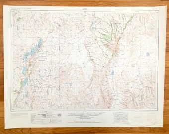Alvord Desert Oregon Map.Alvord Etsy