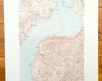 Pend Oreille Map Etsy