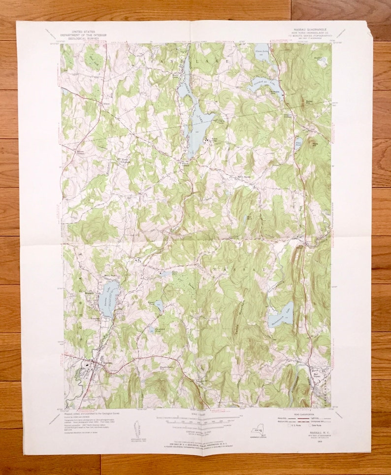 Antique Nau, New York 1953 US Geological Survey Topographic Map – on map of black lake new york, map of lake ontario new york, map of sand lake oregon, map of sand lake idaho, map of sand lake wyoming, map of sand lake mi,