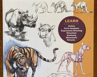 USED COPIES Weatherly Guide to Drawing Animals