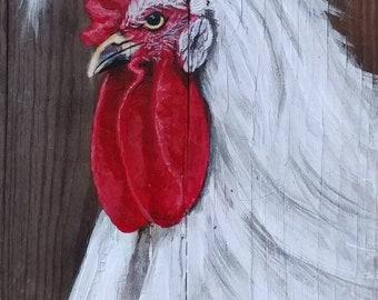 Rooster, Original Art
