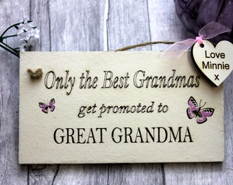 Grandparents Kitchen Gifts Sign - Best Grandma - Grandma Gift- Christmas Gift - Birthday Gift for Grandparents - Great Grandmau0027s Gift & Great grandma gift | Etsy