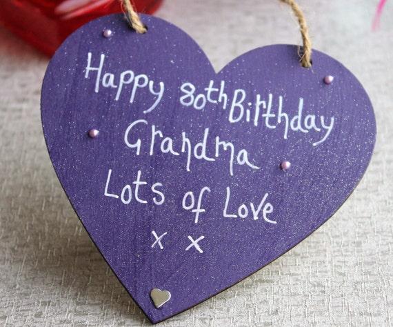 80th Birthday Gift Grandma