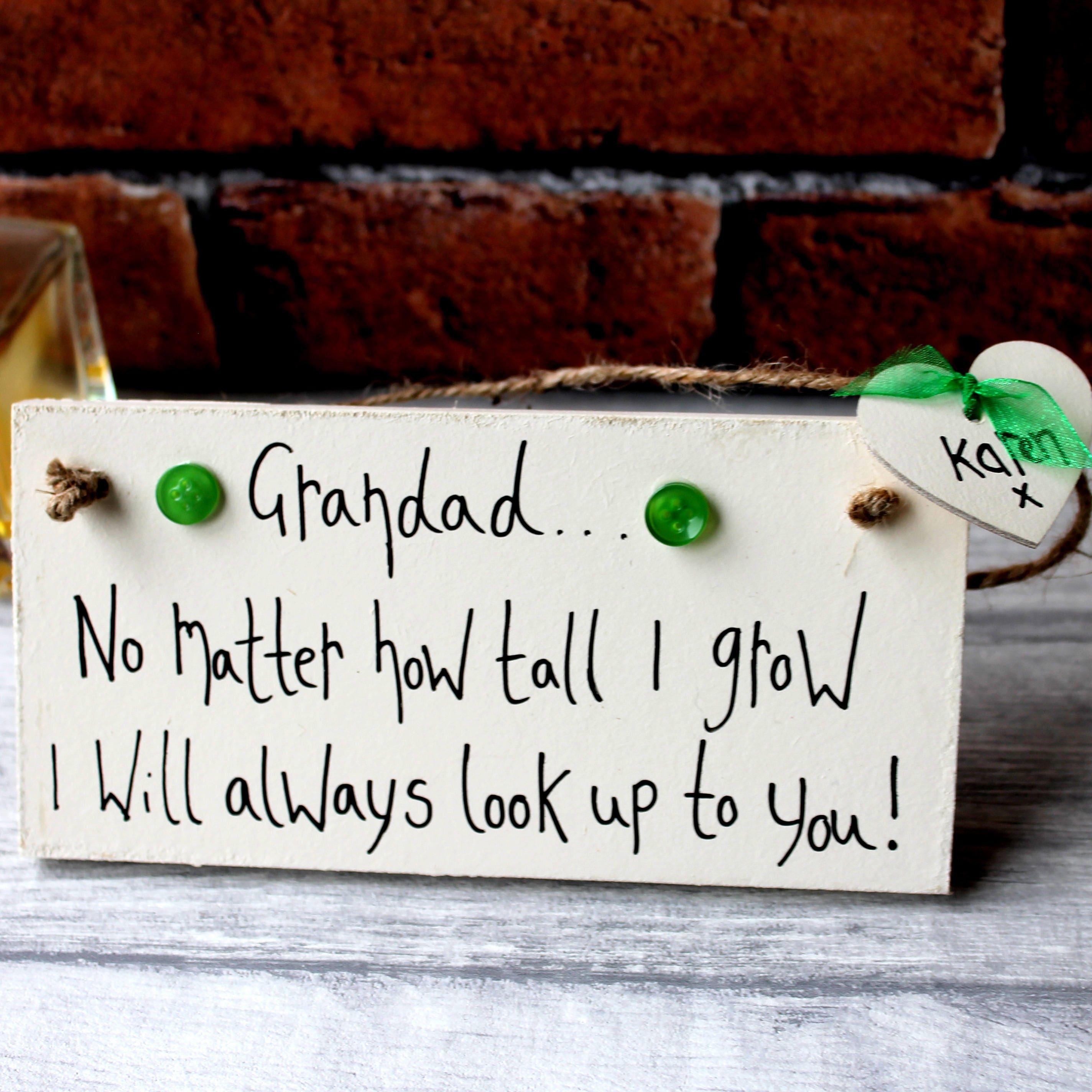 Grandad Birthday Gift Fathers Day