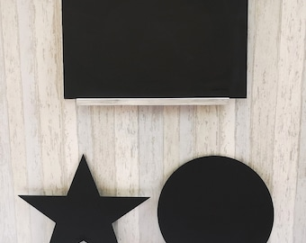 Kids Outdoor Wall Art-Blackboard Decor-Playhouse Decor Outdoor-Chalkboard Art Design-Outdoor Kids Sign Personalized-Playhouse Accessories