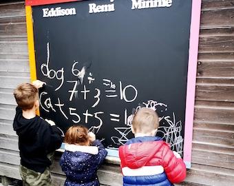 Hanging Outdoor Blackboard-Children's Blackboard-Blackboard-Chalkboard Outdoor-blackboard kids