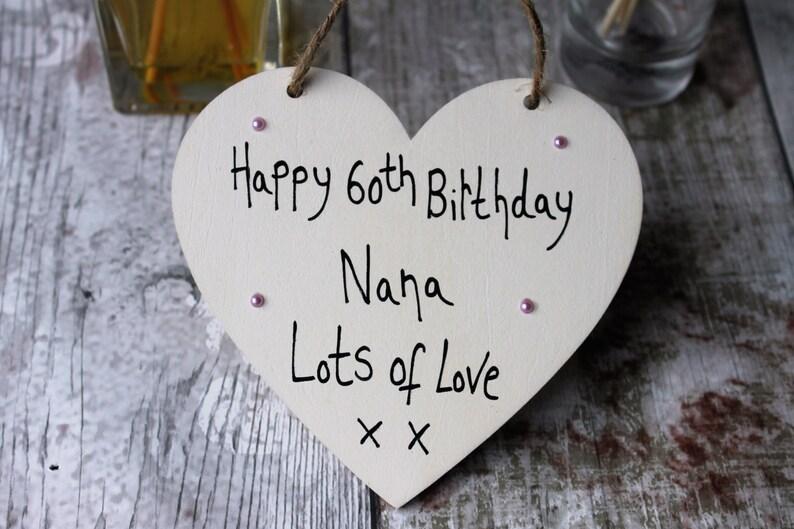 60th Birthday Gift Nana