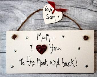 Mum personalised plaque - Mum Best Friend - Mothers Day Gift - Mothers Day Gift Plaque - Mum Plaque - Gift For Mum - Mum Gift - Mum Birthday