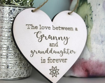 Keepsake for a Special Granny-Best Gift for Granny-Gift for a Granny-Mothers Day Gift for Granny-Granny Christmas Gifts-Personalised Gift
