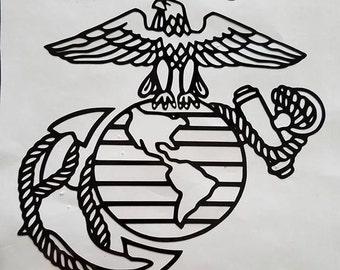 United States Marine Corps Vinyl Decal