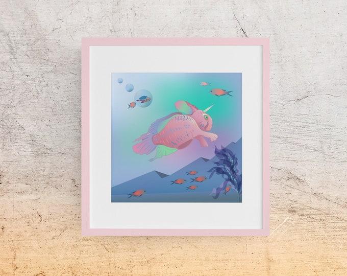 Digital Art Print - Seabunny Adventures