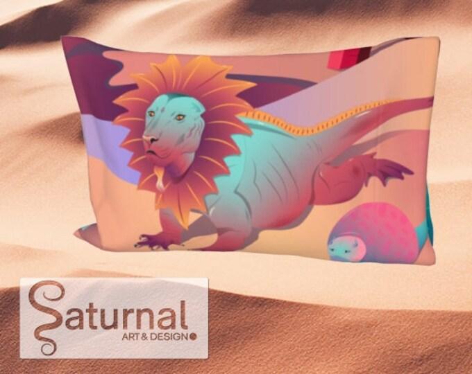 Bed Pillow Sleeve - Sunrise in the Crystal Desert