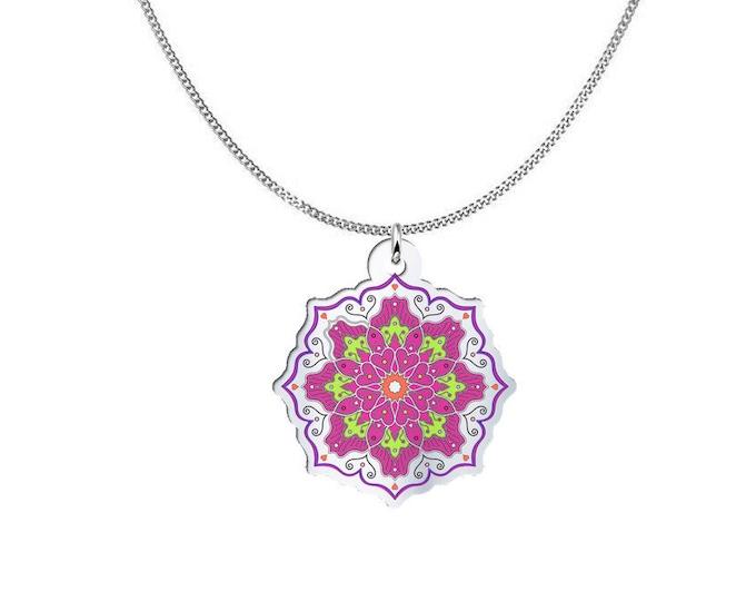 Mandala Pendant Necklace - Mandala Love