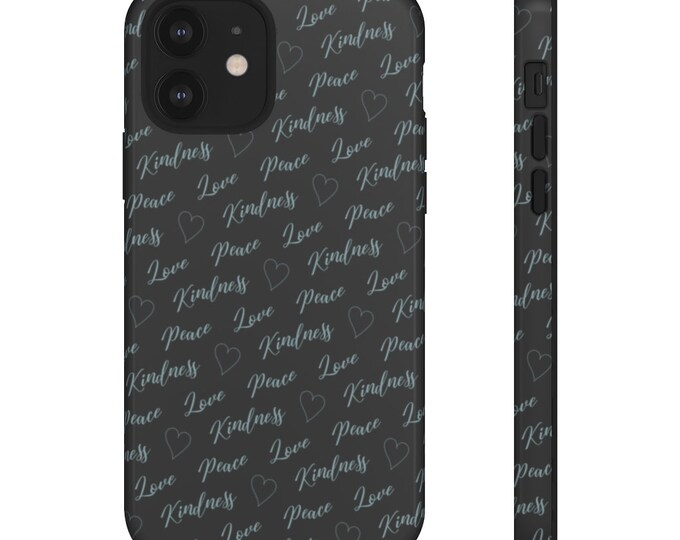Tough Phone Case - Have Heart Pattern