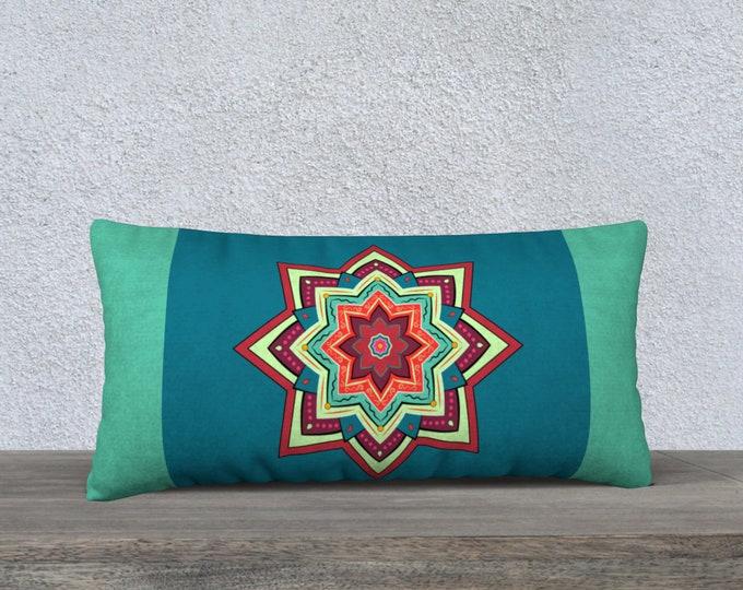 Mandala Pillow Case-Sham (24x12)- Soul Fuel