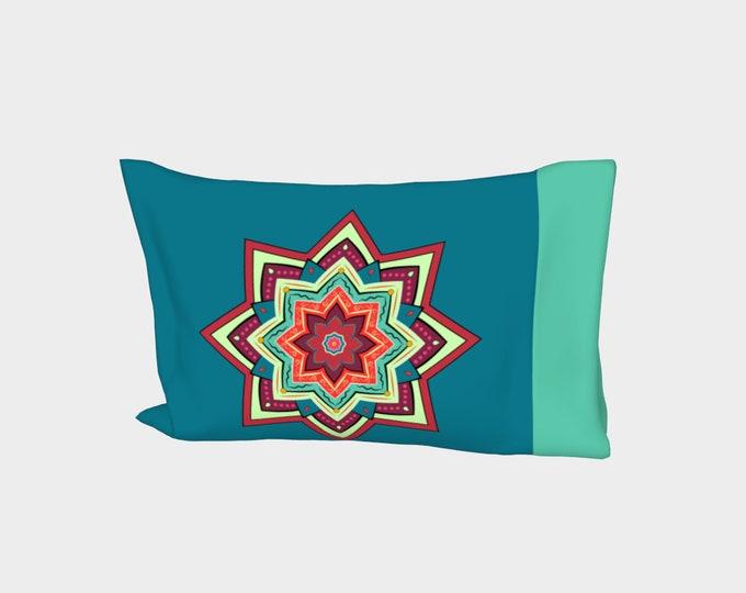 Mandala Bed Pillow Sleeve - Soul Fuel   Mandala Pillowcase