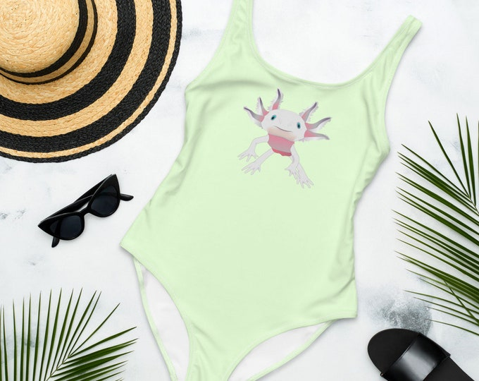 One-Piece Swimsuit (Sea Faerie) | Sea Creature Illustration Swimsuit