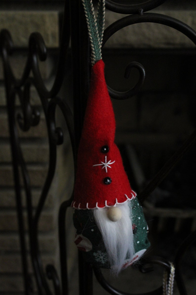 Tomte Gnome Christmas Ornaments