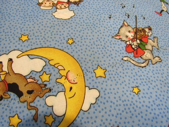 Mother Goose Characters, Pillow Case, Standard Size,