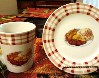 County Fair Dessert Pattern Dishes by Century