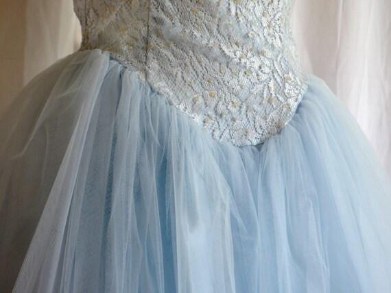 Vintage Scott McClintock Blue Dress
