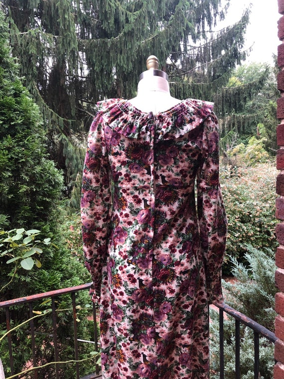 Vintage 70's Styled Floral Dress Cottagecore - image 3