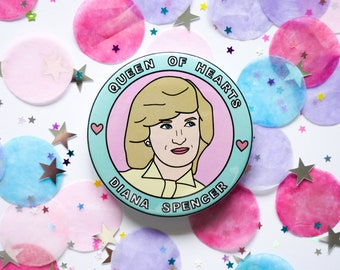 Princess Diana - 58mm - Badge