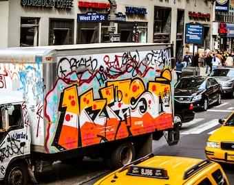 Throw up graffiti | Etsy