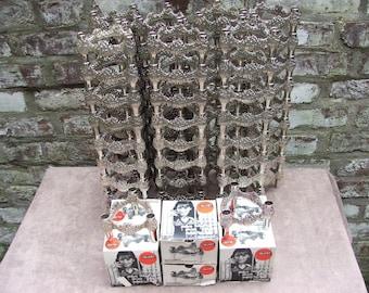 vintage Mid-Century atomic MACHINE AGE candlestick candle holder Nagel Quist era