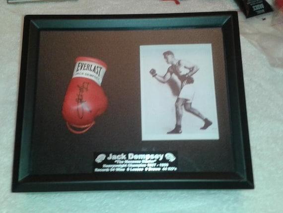 Autografiada Mini llavero guante de boxeo Mike Tyson