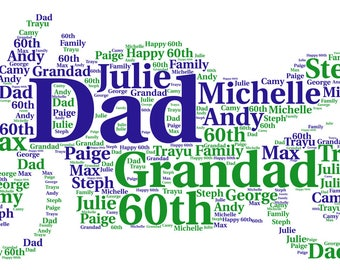 Personalised Motorbike Word art picture