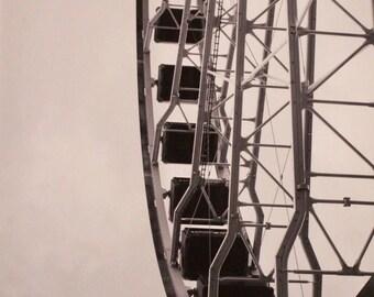 Chicago Navy Pier Farris Wheel print