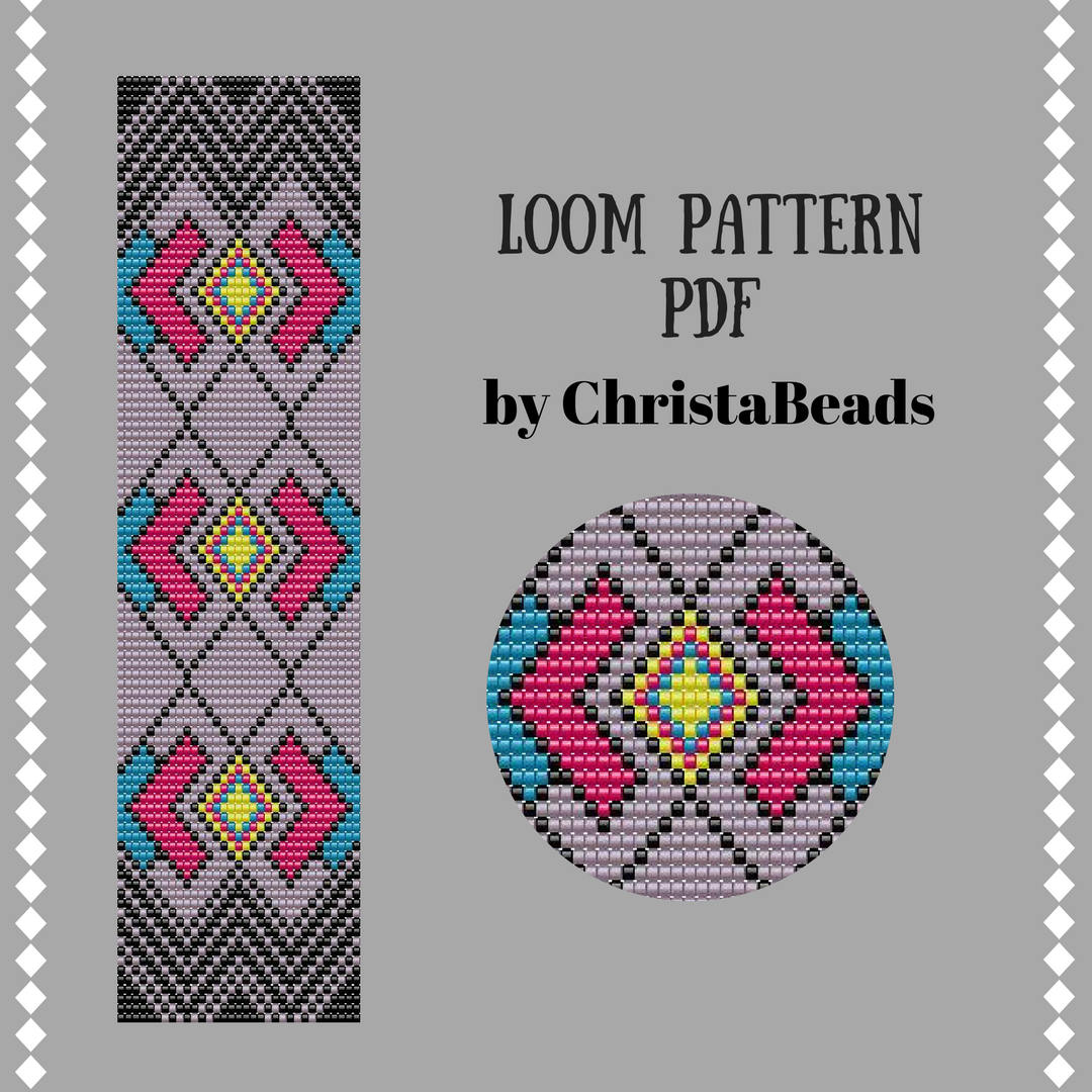 Seed Bead Loom Patterns Best Inspiration