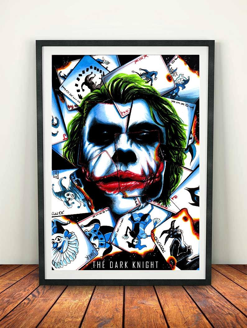 HARLEY QUINN POSTER Suicide Squad Batman Joker DC Wall Art Photo Print A3 A4