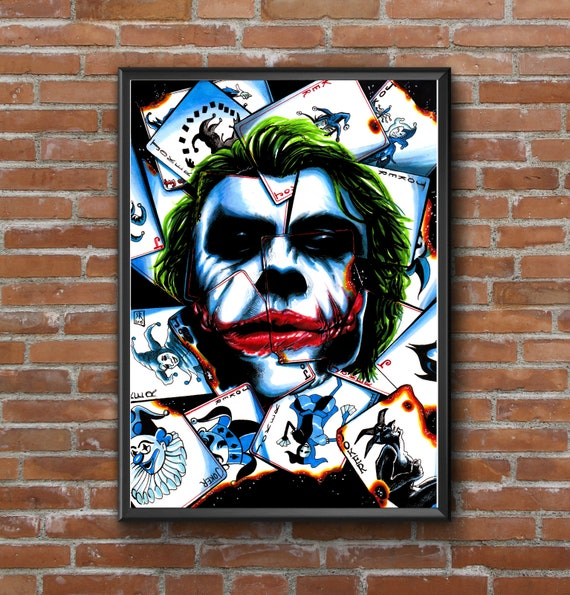 HARLEY QUINN POSTER Suicide Squad DC Joker Batman Wall Art Print Photo A3 A4