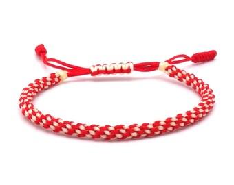 Tibet Armband - Umbrella Red