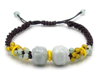 Tibet Armband - Lotus Braun