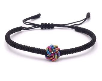 Tibet Armband - Knot Schwarz