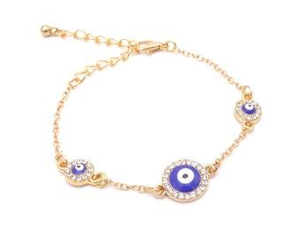 Armband - Nazar Gold
