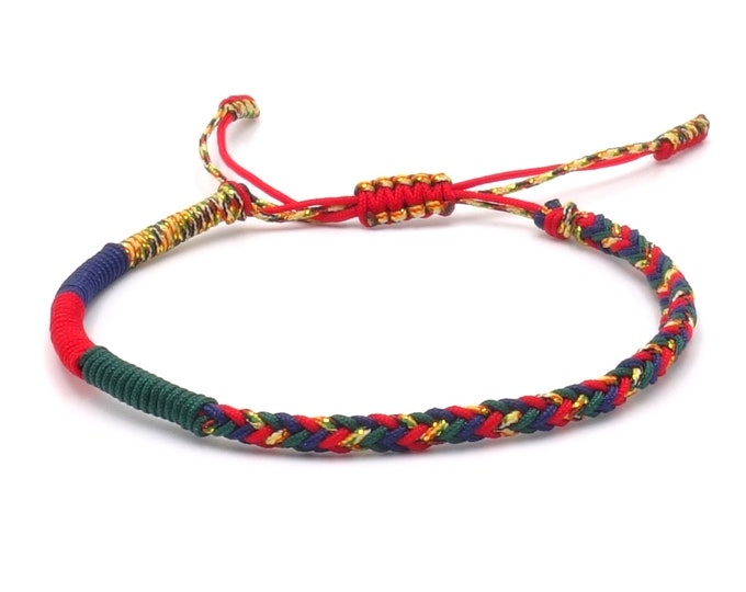 Tibet Armband - Colourful
