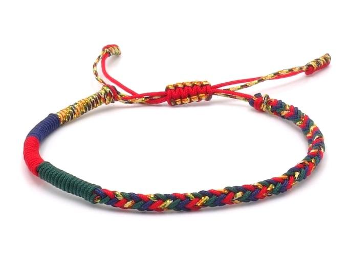 Tibet Armband - Colourful