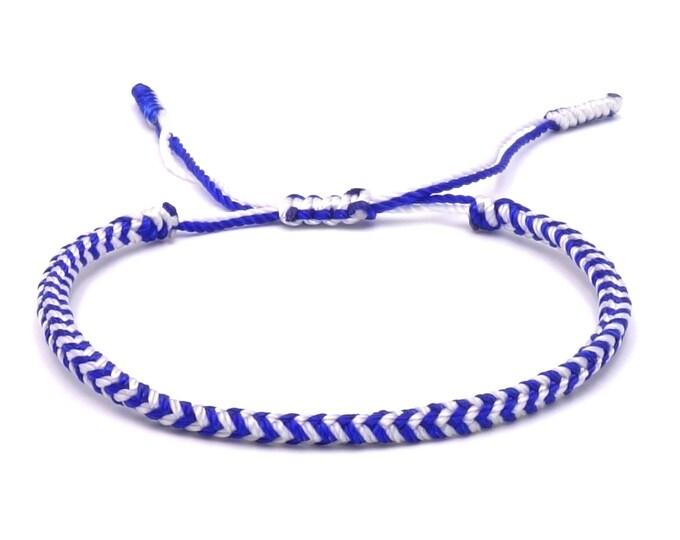Tibet Armband - Angel Blue
