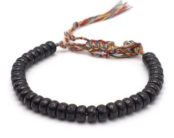 Tibet Armband - Mantra Schwarz