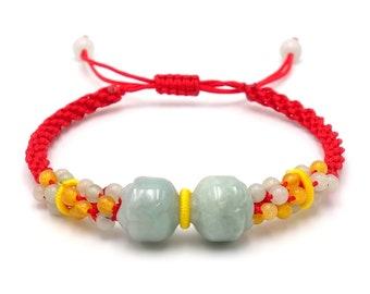 Tibet Armband - Lotus Rot
