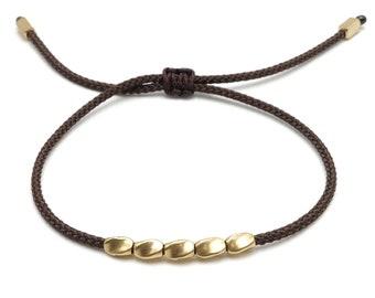 Tibet Armband - Friends Dunkelbraun