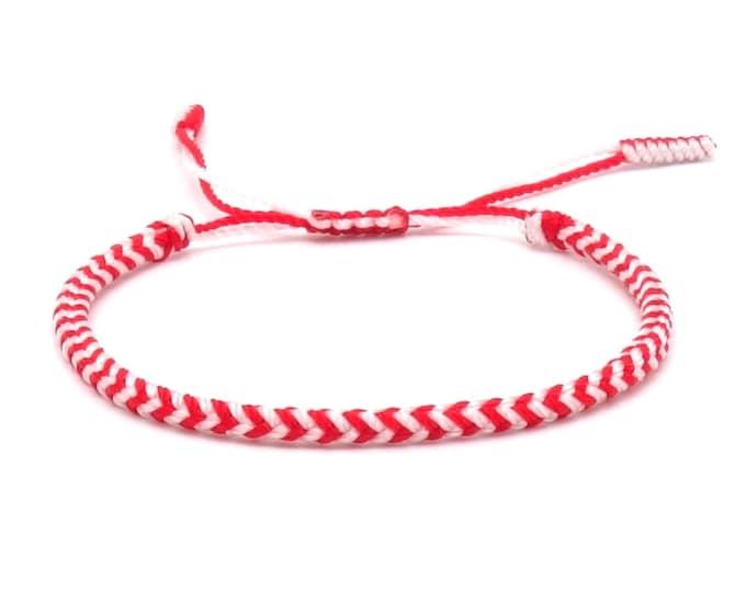 Tibet Armband - Angel Red