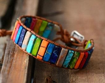 BOHO Armband - Achat Bunt