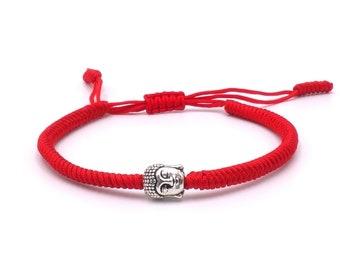 Buddha Armband - Red