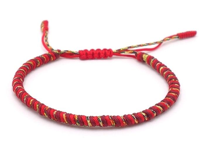 Tibet Armband - Surf Rot